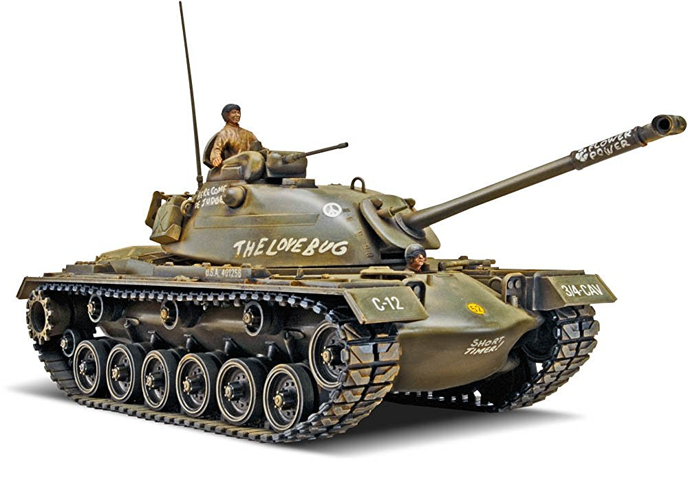 revell-patton-tank
