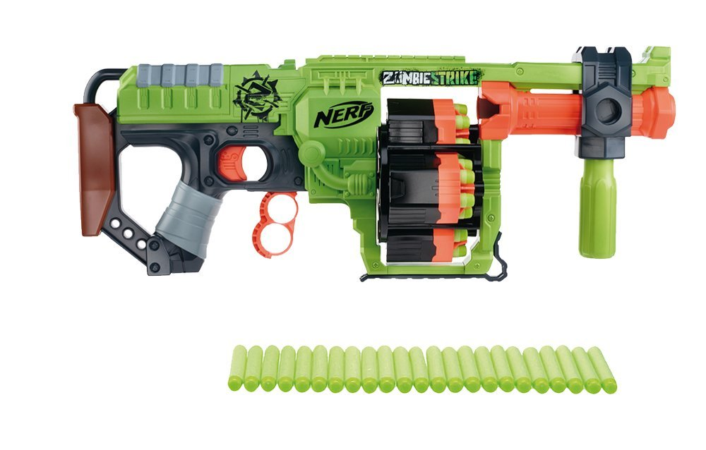Nerf Gun is Fully Automated and Shoots 68 MPH